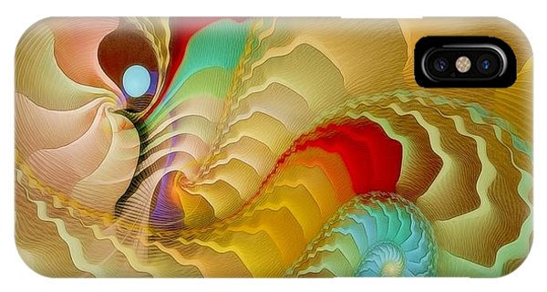 With A Gentle Breath Phone Case by Gayle Odsather