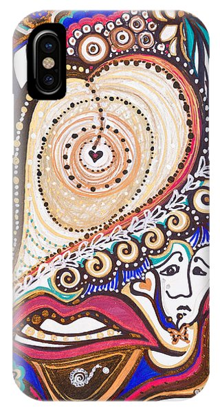 With Deep Thoughts And Tears - Vii IPhone Case