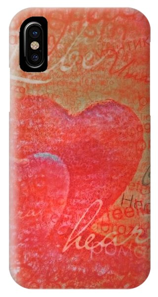 With Heart IPhone Case