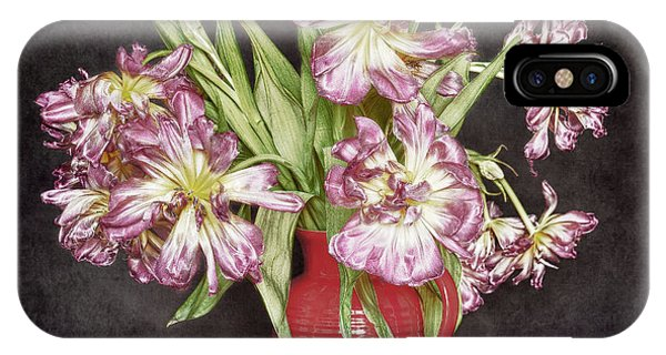 Withered Tulips IPhone Case