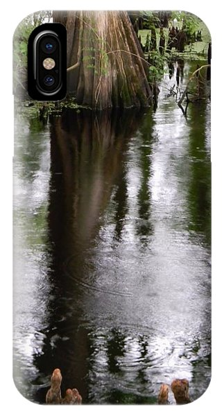 Withlacoochee River Canal Reflections IPhone Case