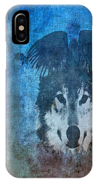 Wolf And Raven IPhone Case