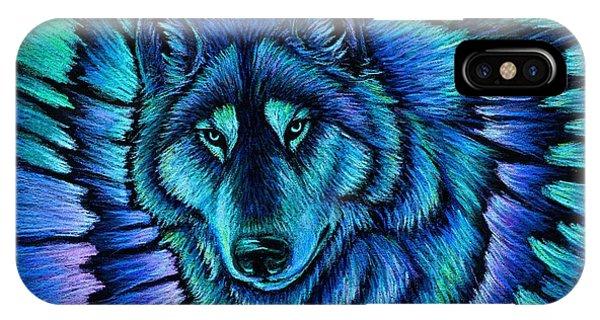 Wolf Aurora IPhone Case