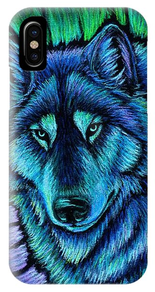 Wolf Aurora IPhone Case