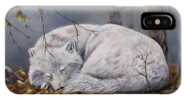 Wolf Dreams IPhone Case