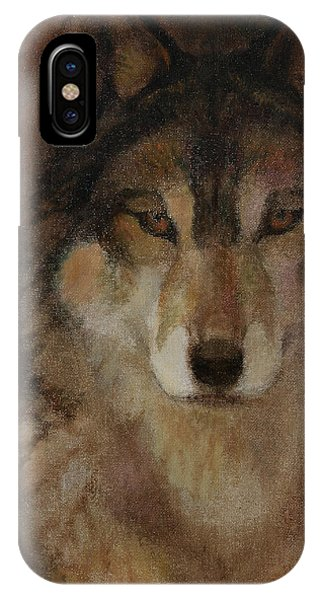 Wolf Head IPhone Case