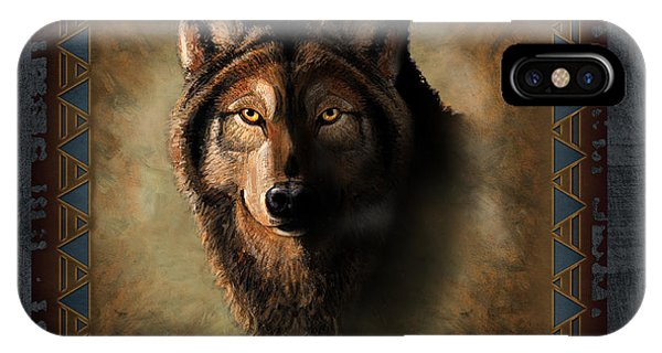 Wolf Lodge IPhone Case