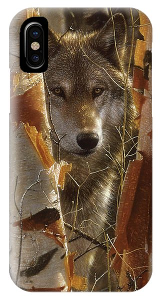 Wolf - The Guardian IPhone Case