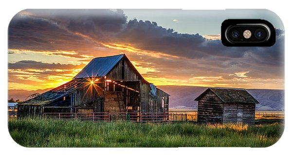 Wolff Barn IPhone Case