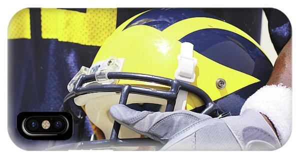 Wolverine Cradles Helmet IPhone Case