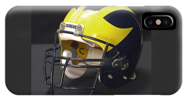 Wolverine Helmet From The 1990s IPhone Case