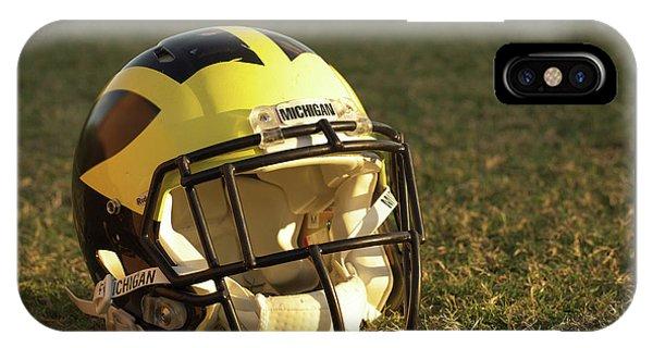 Wolverine Helmet In Morning Sunlight IPhone Case