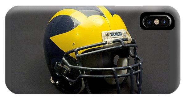 Wolverine Helmet Of The 2000s Era IPhone Case