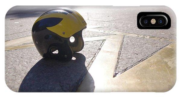Wolverine Helmet On The Diag IPhone Case