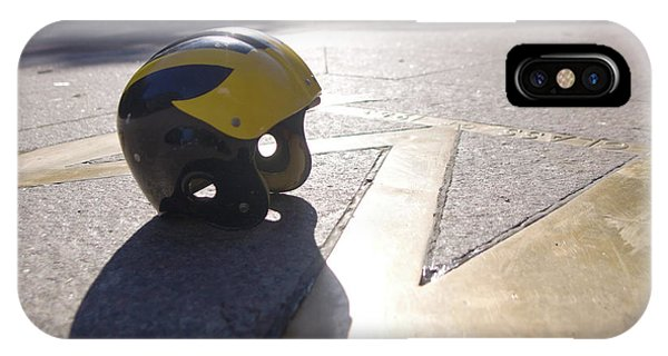 Wolverine Helmet On The Diag IPhone Case