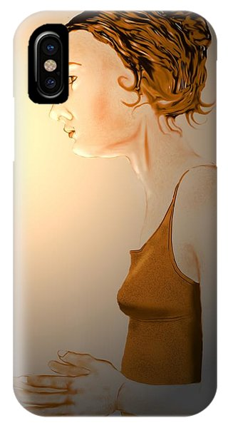 Woman 15 IPhone Case