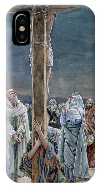 Mary Mother Of God iPhone Case - Woman Behold Thy Son by Tissot