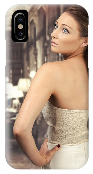Woman In Drawing Room IPhone Case