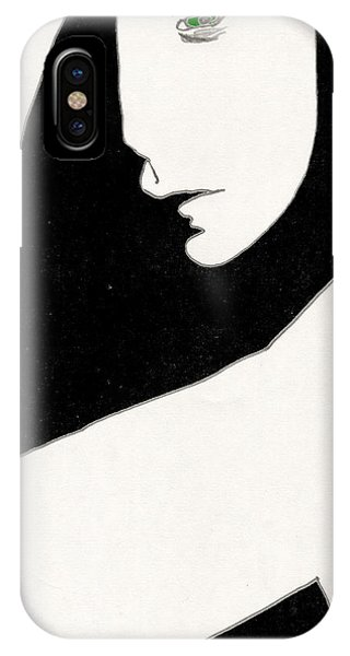 Woman In Shadows IPhone Case