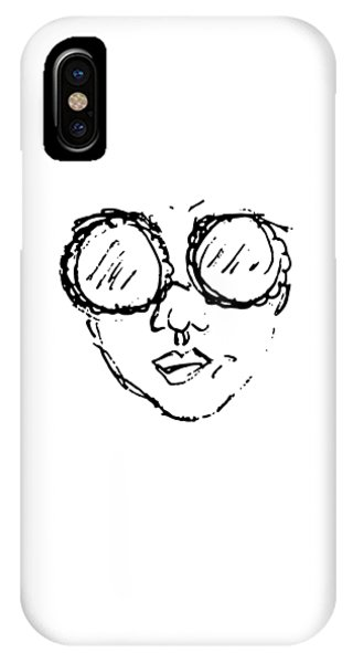 Woman In Sunglasses IPhone Case