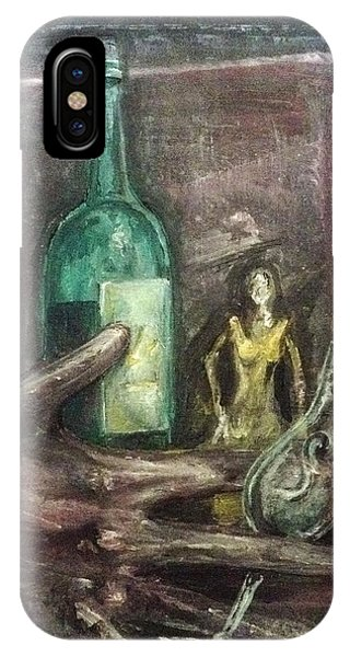 IPhone Case featuring the painting Woman In Yellow Dress by Keith A Link