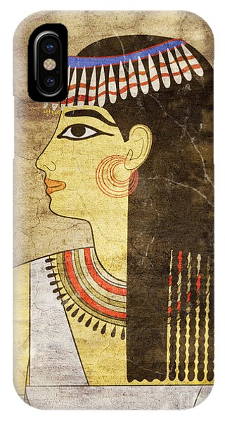Rare iPhone Case - Woman Of Ancient Egypt by Michal Boubin
