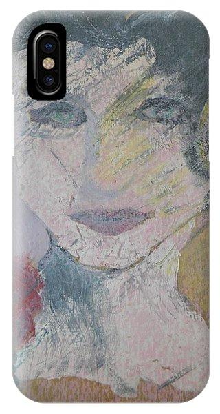 Woman's Portrait - Untitled IPhone Case