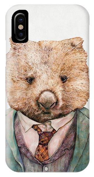 Animal iPhone Case - Wombat by Animal Crew
