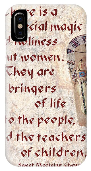 Women Bring Life IPhone Case