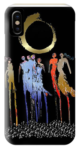 Women Chanting - Enso  IPhone Case