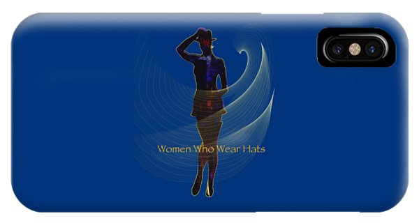 Women Who Wear Hats 5 Phone Case by Sydne Archambault