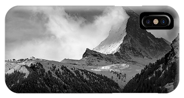Wonder Of The Alps IPhone Case