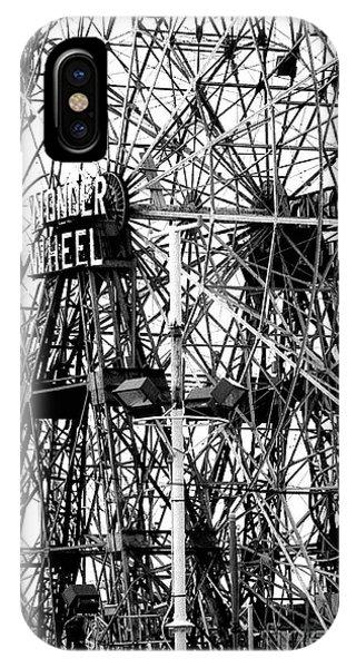 Wonder Wheel Coney Island IPhone Case