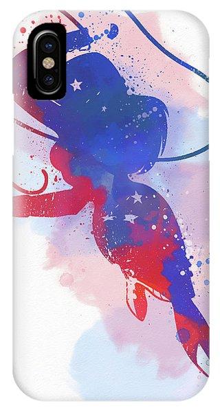 Wonder Woman Watercolor IPhone Case