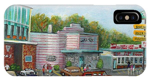 Massachusetts iPhone Case - Wonderful Memories Of The Wal-lex by Rita Brown