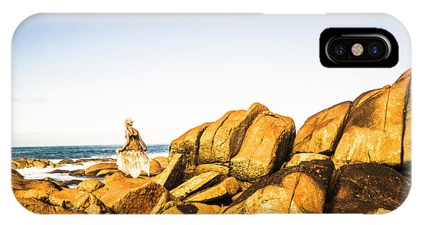 Distant iPhone Case - Wonderful West Coast Tasmania by Jorgo Photography - Wall Art Gallery