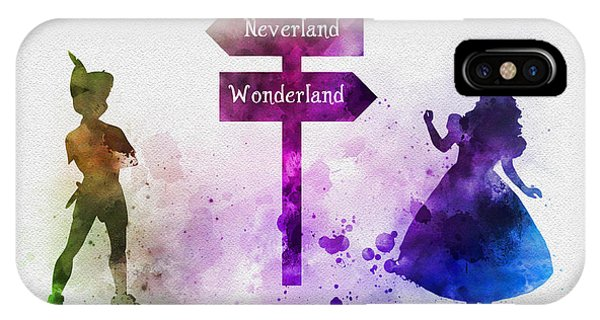 Fairy iPhone Case - Wonderland Or Neverland by My Inspiration