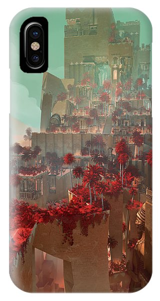 Wonders Hanging Garden Of Babylon IPhone Case