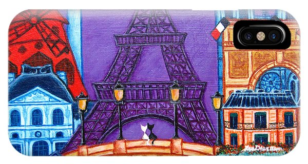 Paris Metro iPhone Case - Wonders Of Paris by Lisa  Lorenz