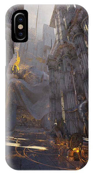 Wonders Temple Of Zeus IPhone Case