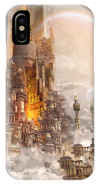Wonders Tower Of Babylon IPhone Case