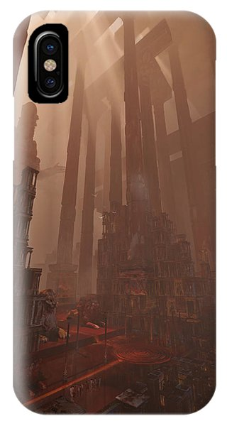 Wonders_temple Of Artmeis IPhone Case