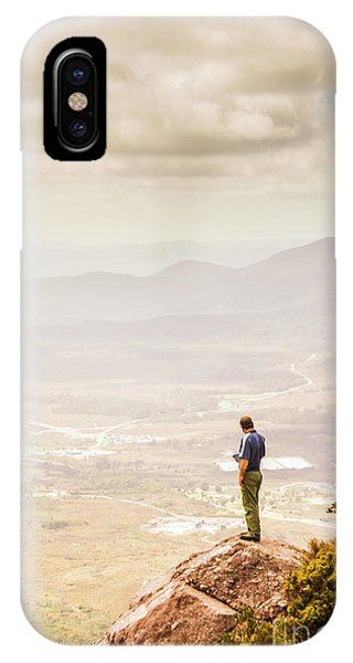View Point iPhone Case - Wondrous Western Tasmania by Jorgo Photography - Wall Art Gallery