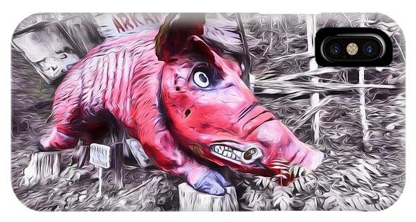 Woo Pig Sooie Digital IPhone Case