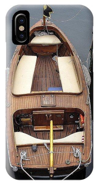 Wood Boat Nantucket IPhone Case