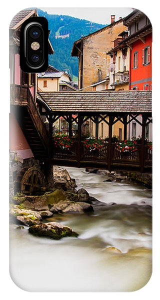 Wood Bridge On The River IPhone Case