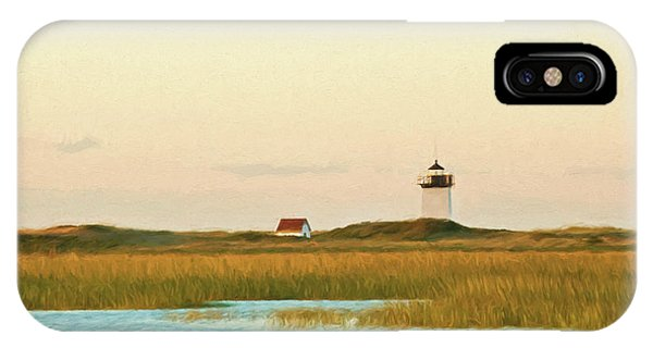 Wood End Lighthouse IPhone Case