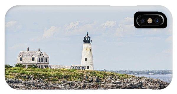 Wood Island Light IPhone Case