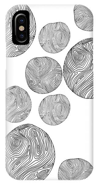 Wood Print Vertical IPhone Case