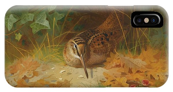 Woodcock iPhone Case - Woodcock by Celestial Images